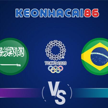 Soi kèo trận U23 Saudi Arabia vs U23 Brazil, 15h00 – 28/07/2021